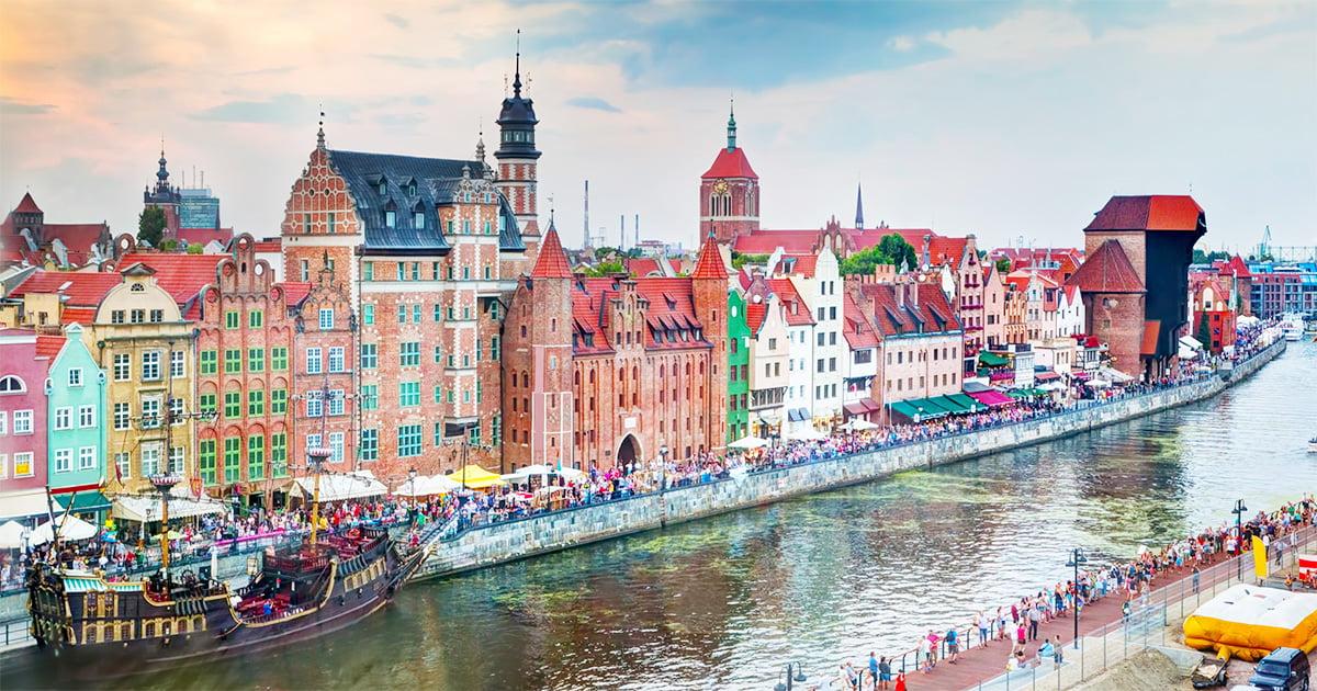 City Break Gdansk, 132 € (zbor si 5 nopti cazare)