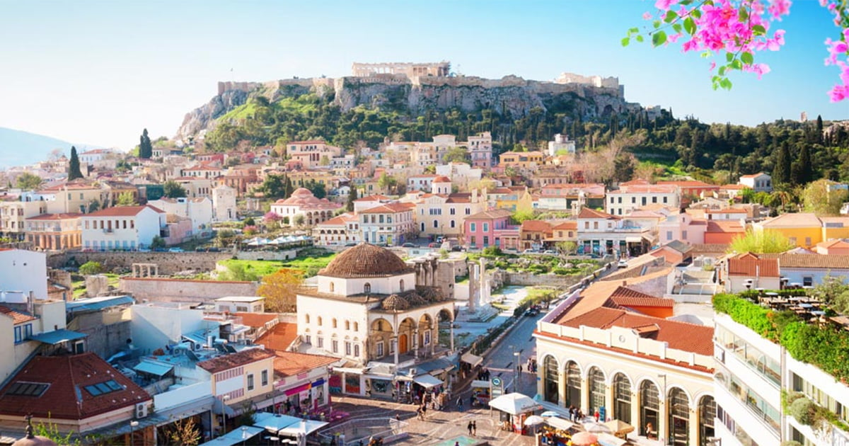 City Break Atena, 85 € (zbor si cazare 3 nopti)